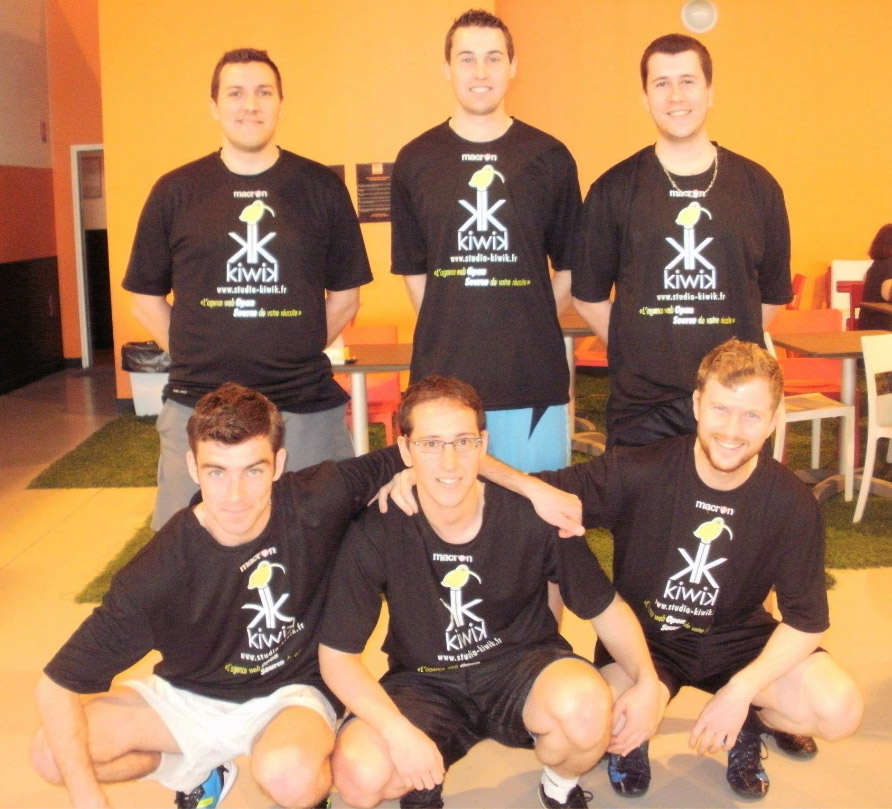 equipe Kiwik temple du foot