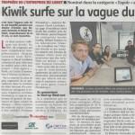 La «République du Centre» parle de Kiwik