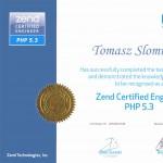 Félicitations à Tomasz, certifié Zend Certified Engineer PHP 5.3