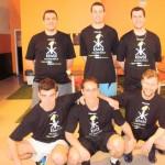 Tournoi de football au temple du foot – La «kiwik team» représentée