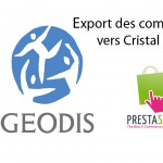 Finalisation du développement du module d'export Prestashop – Géodis