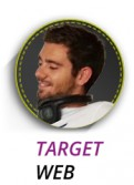 Maxime Denizon, responsable webmarketing chez Target Web