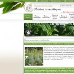 Aromatiques, pépinière Deloulay : relooking du site e-commerce
