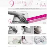 9 mois & toi : boutique en ligne d'articles de maternité.