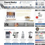 Fourni Resto : exemple de site B to B sous Prestashop