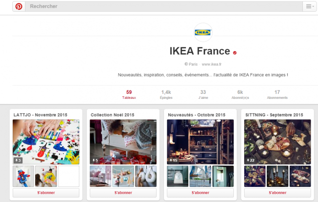 ikea propose son catalogue produit su pinterest