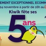 Evènement e-commerce exceptionnel en région centre pour les 5 ans de l'agence Kiwik