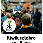 Kiwik dans le magazine Acteurs de l'Éco </br> « Loire & Orléans Eco »